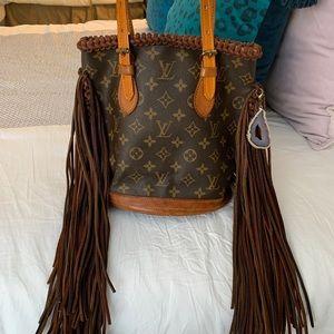 Boho Louis Vuitton handbag